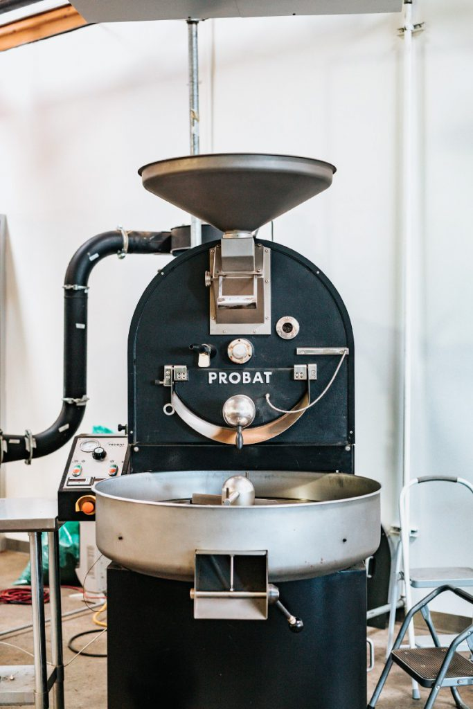 咖啡烘焙機器