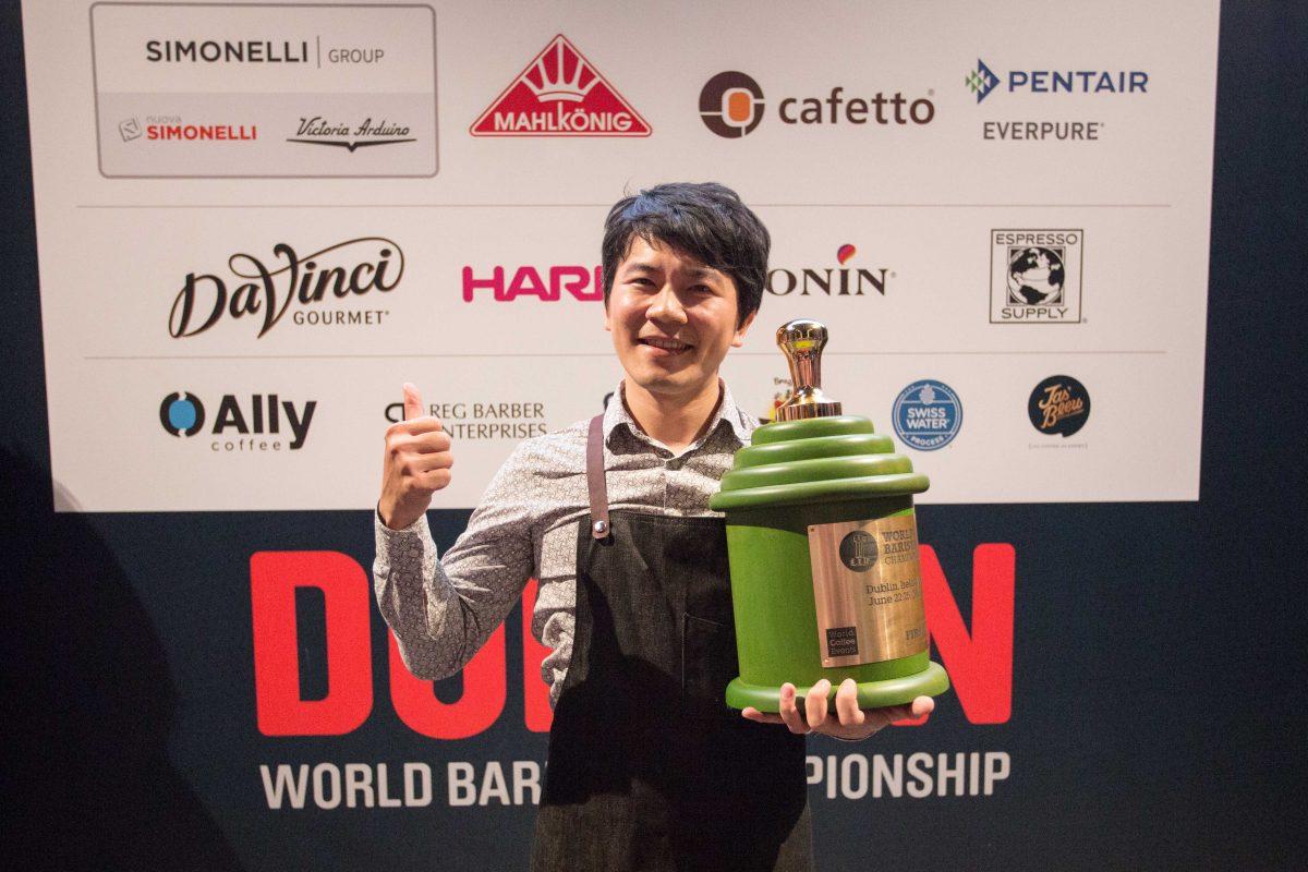 關於世界冠軍-吳則霖 Berg Wu 與他所客製化的耶加雪菲 G1 咖啡豆