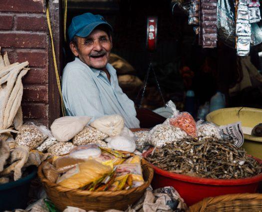 宏都拉斯市集攤販