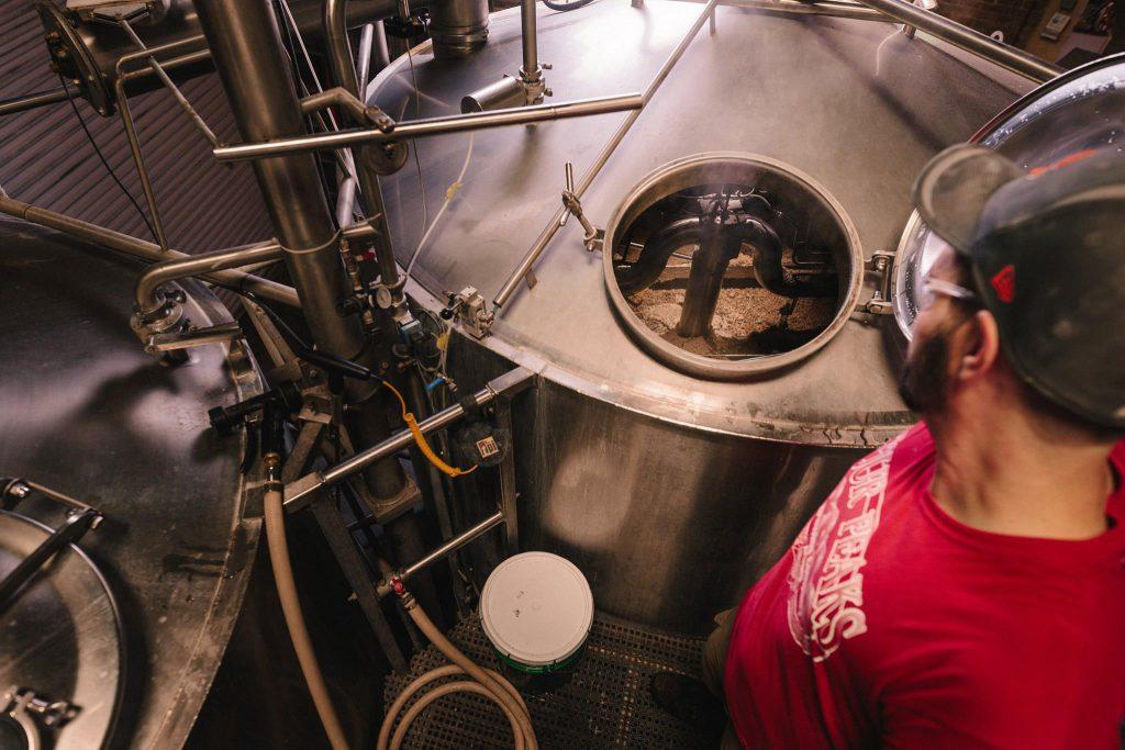 厭氧發酵處理法,釀造過程-示意圖