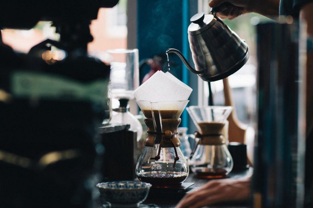 沖煮咖啡風味-示意圖