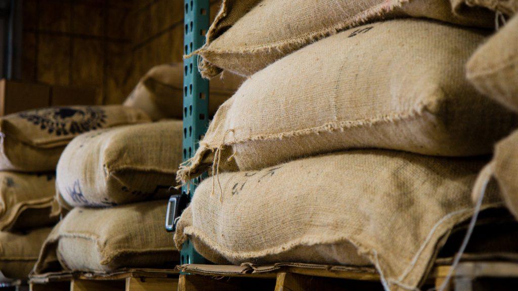 咖啡豆麻布袋-示意圖