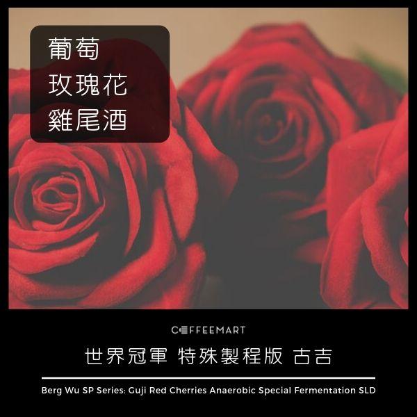 台灣之光 世界冠軍 吳則霖 Berg Wu 特殊製程版 古吉 厭氧特殊長時間發酵 慢速乾燥 咖啡豆