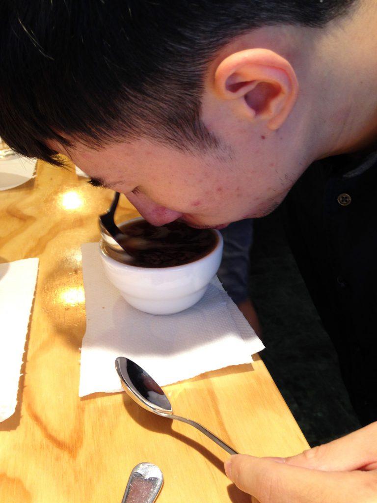 精品咖啡-杯測-破渣-濕香-咖啡香