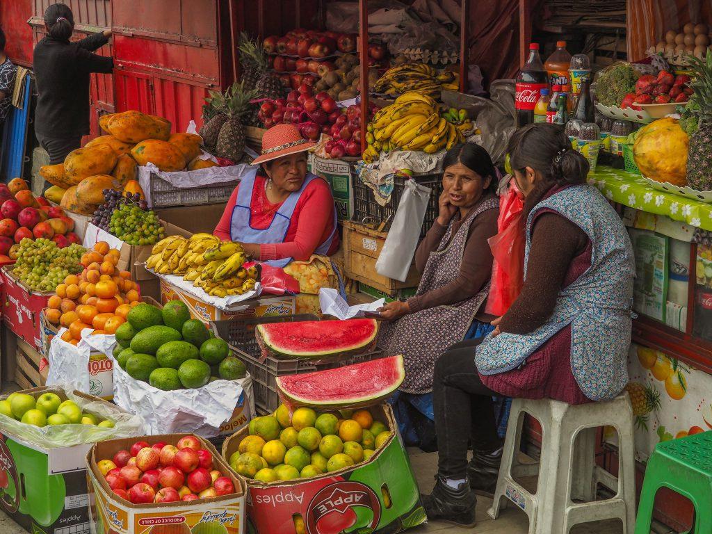 玻利維亞盛產各類熱帶水果。